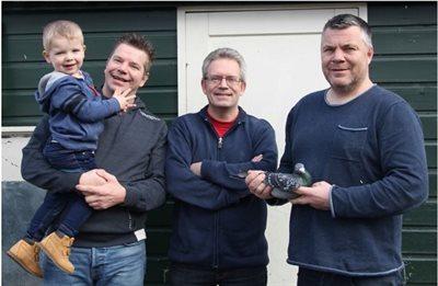 Familie Jacobs (Beek, Nl.): 1e Wefo-Limburg Wedvlucht Charleville op 21  juli voor 1.721 jonge duiven